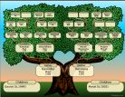Decorative Tree Chart