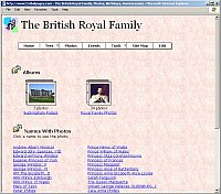 Family Tree Albums Page